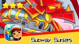 Subway Surfers BeiJing Day10 Walkthrough Legend of The Dragon Recommend index three stars