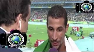 توفيق مخلوفي يفضح المسؤولين الجزائريين بعد فوزه ب 1500م