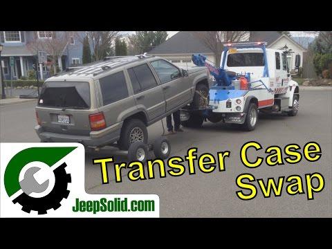 Jeep Grand Cherokee ZJ 4x4 transfer case swap 249 242 231