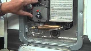 Travel Trailer PDI Propane, Hot Water Heater
