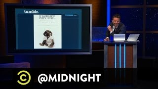 Paul F. Tompkins, Jen Kirkman, Mike Lawrence - TumblReality - @midnight with Chris Hardwick