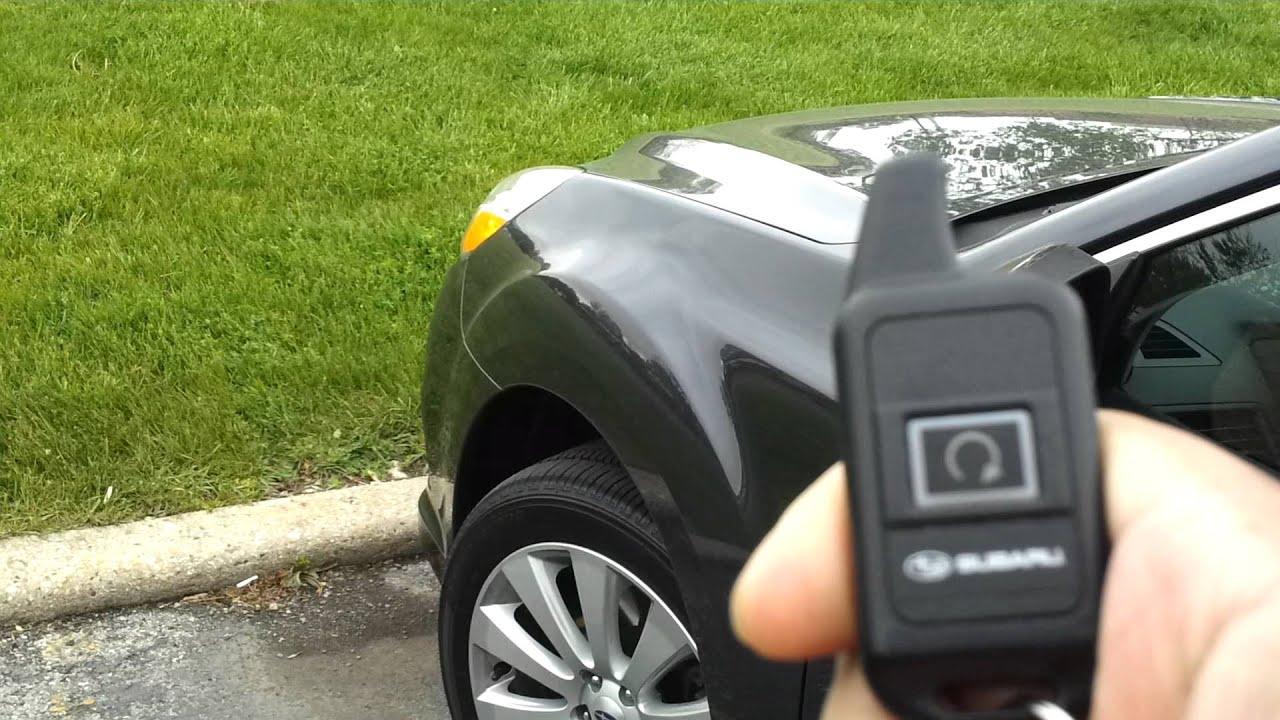 Subaru Remote Start Youtube