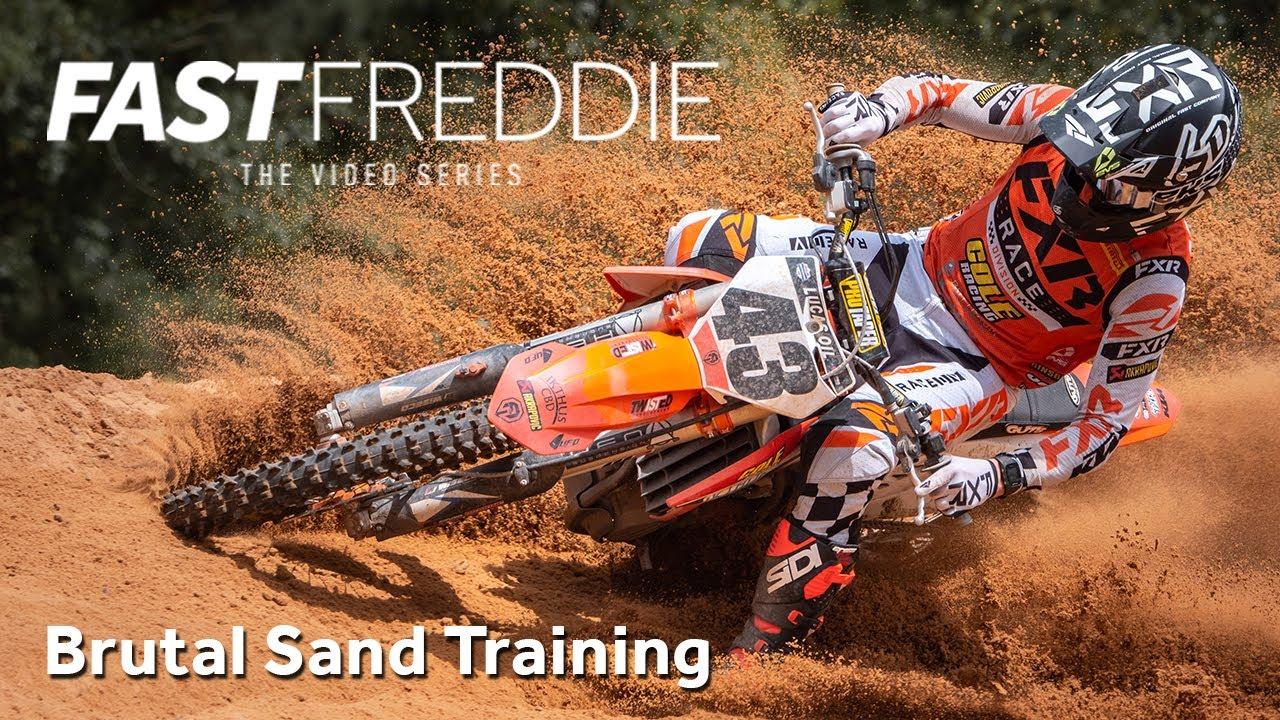 Brutal Sand Training!!! with Fast Freddie Noren - Motocross Action Magazine