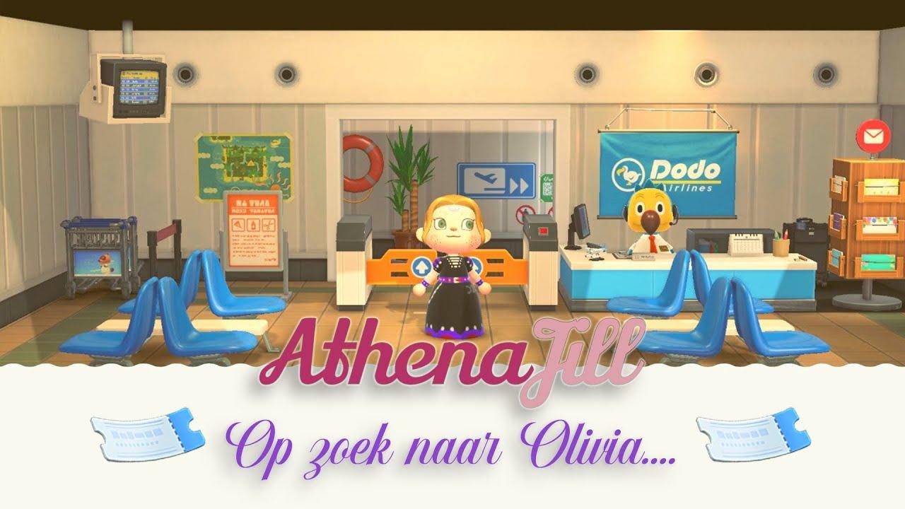 Animal Crossing live stream - opzoek naar Olivia