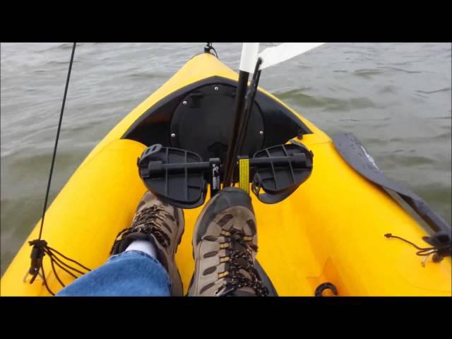Hobie i12s Inflatable Kayak Sailing Upwind