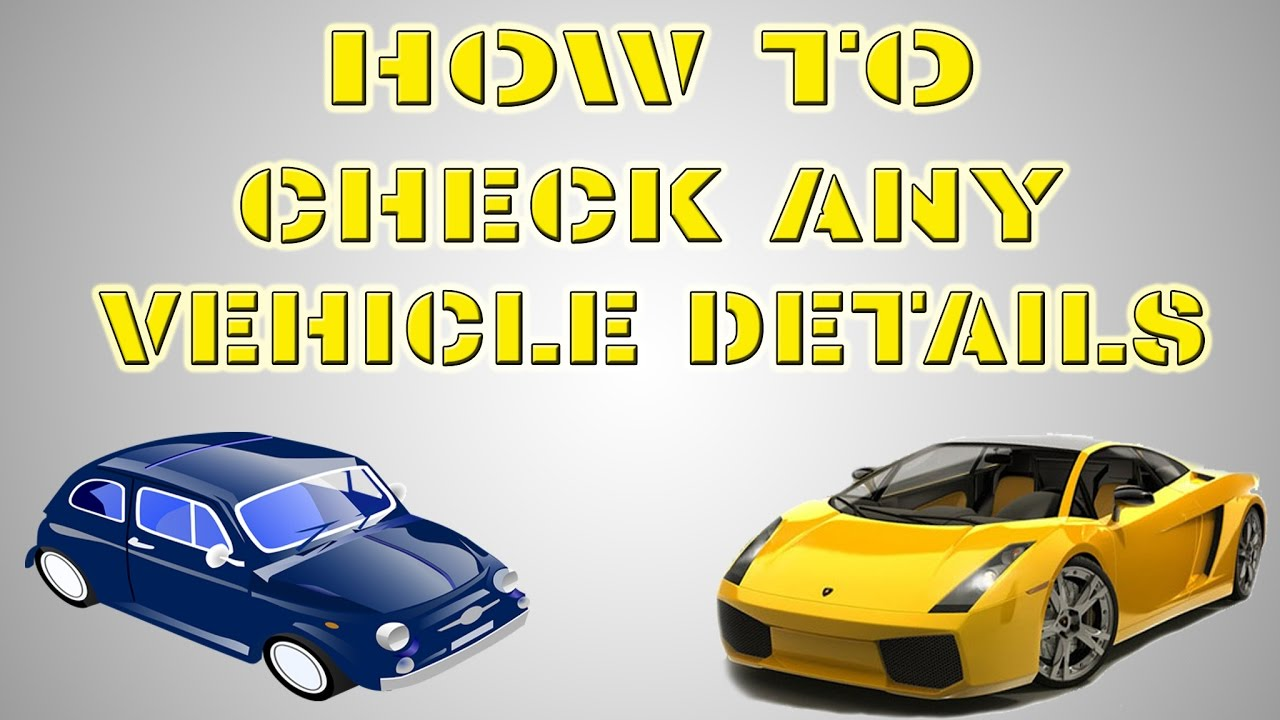 HOW TO CHECK ANY VEHICLE DETAILS ONLINE OR OFFLINE || HINDI - YouTube