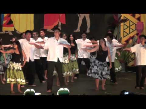 Senior Class Hula - Hawaiian Mission Academy Mayday 2011
