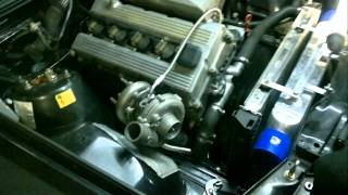 bmw e30 m42 2.0 turbo first start