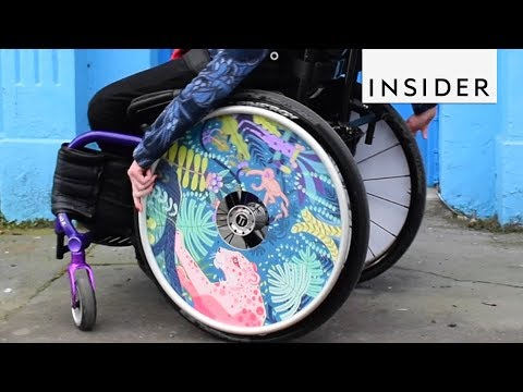Artistic Wheelchairs Are Smashing Negative Stigmas