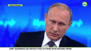Путин: Киев сам отрезает от себя Донбасс(, 2015-04-16T11:05:46.000Z)