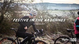 FIRST RAPHA FESTIVE 500 RIDE IN THE ARDENNES