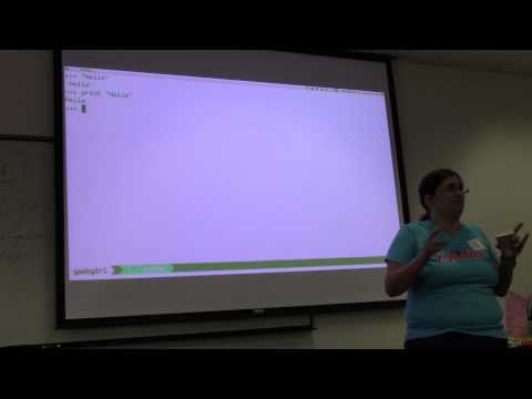 Geek Girl 2014: Intro to Python (Workshop 1)