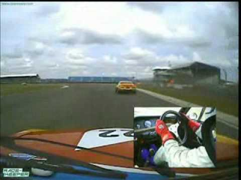 Silverstone Classic Touring Cars  PHTC from William Jenkins BMW CSL Part 2.wmv