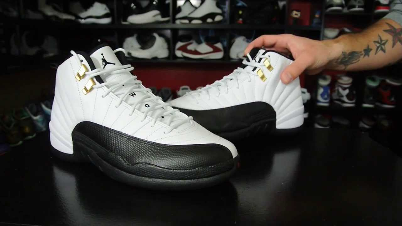 99f5fa4cacb Air Jordan 12 Retro 'Taxi' 2013 - YouTube