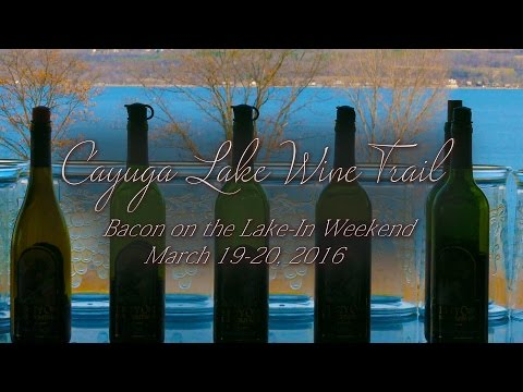 CAYUGA LAKE WINE TRAIL - BACON ON THE LAKE IN