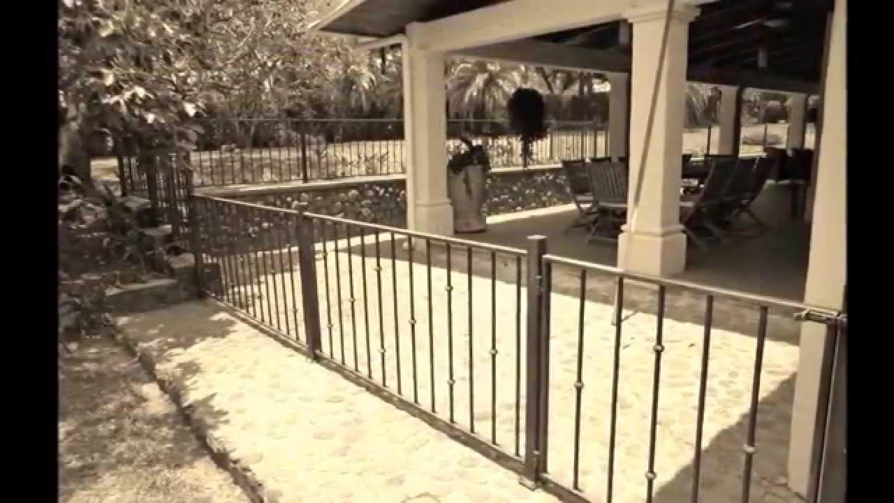 Baranda de hierro forjado youtube - Baranda de hierro ...