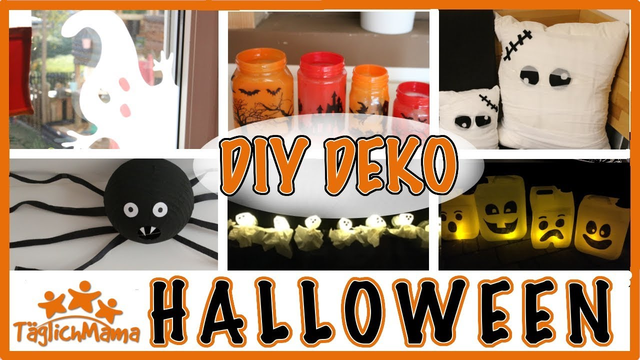 6 Diy Halloween Deko Ideen Halloween Decoration Taglich Mama Youtube