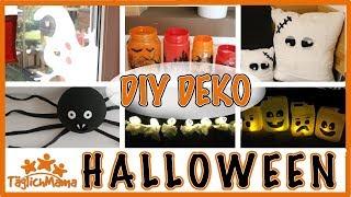 6 DIY HALLOWEEN DEKO-IDEEN / Halloween decoration / Täglich Mama