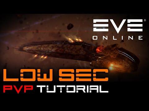 EVE ONLINE -  PvP Tutorial / Anfänger Ausbildung - Low Sec Flotten PvP - Teil 1/2 [Deutsch | HD]