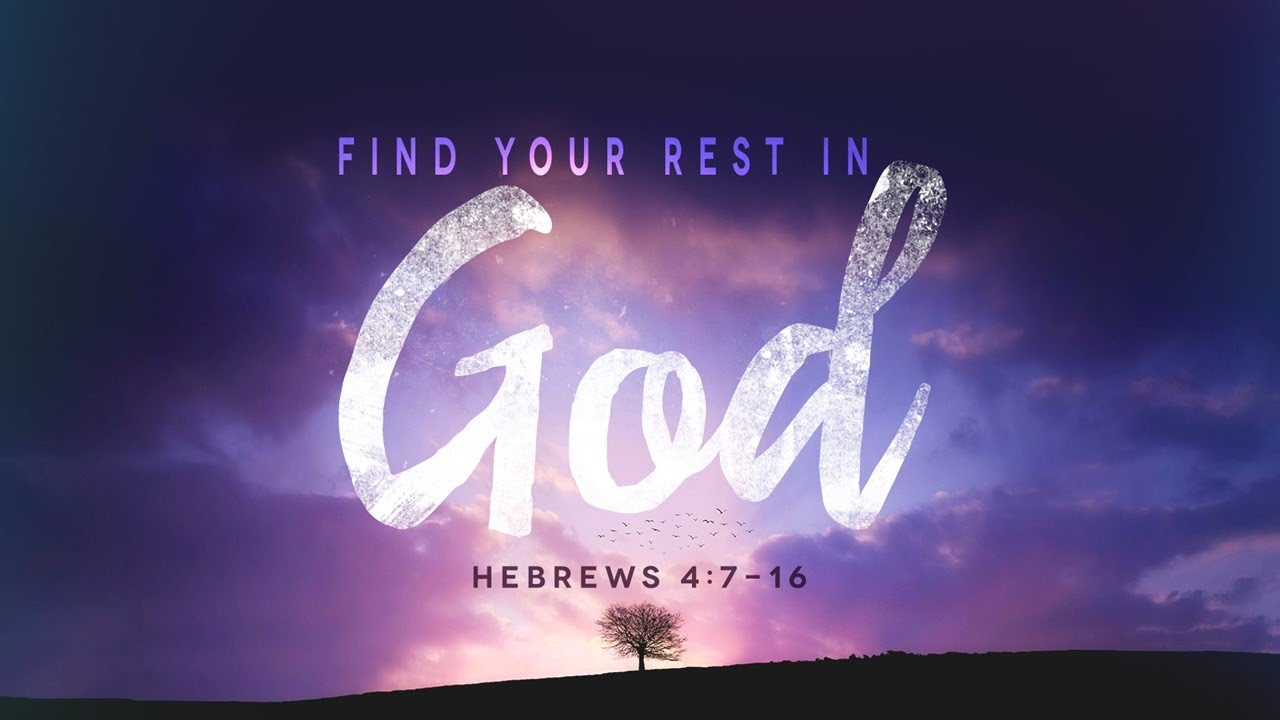 Image result for rest in god's promises