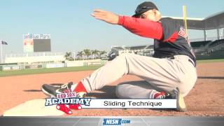 Red Sox Academy -- Sliding technique