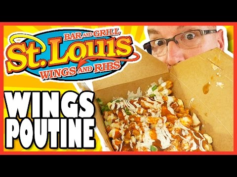 St. louis Wings Poutine Review - Buffalo Style
