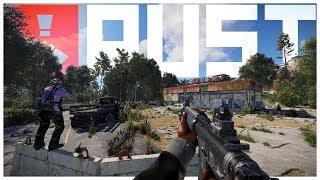 Rust - Pinned Down! (PVP/Counter Raids/Raids)