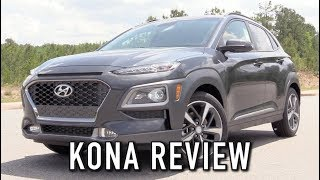 2018 Hyundai Kona Limited 1.6T AWD: Start Up, Test Drive & In Depth Review