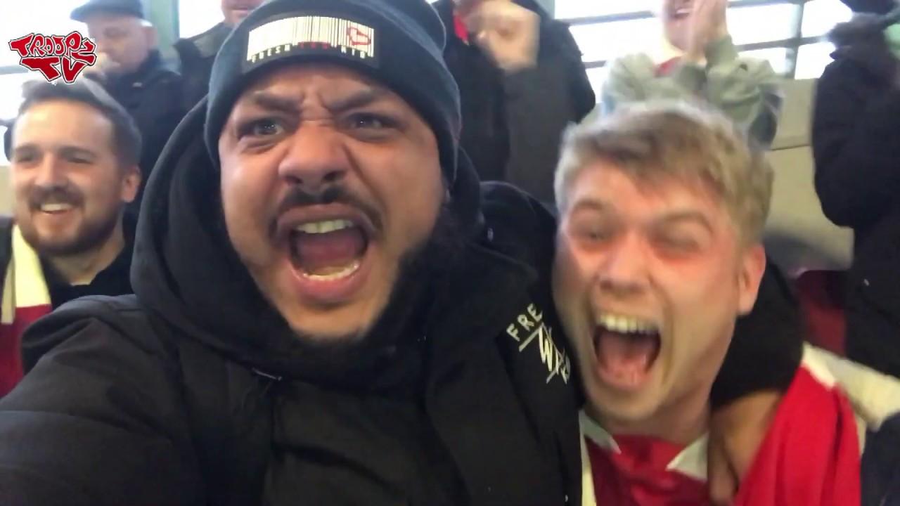 Download Arsenal 4-2 Tottenham | Matchday Vlog | AubameBloodclaatYang Keeps North London Red Rudebwoi