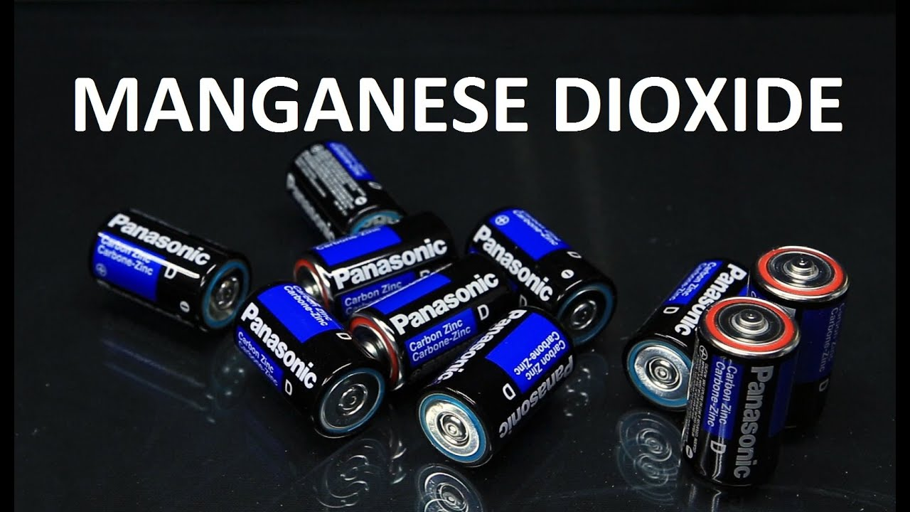 Getting Manganese Dioxide  Zinc And Carbon From Batteries