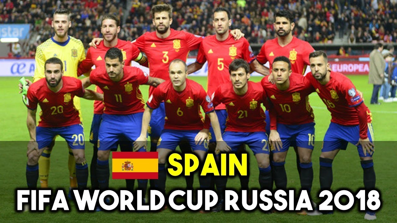 Spain Squad For Fifa World Cup Russia