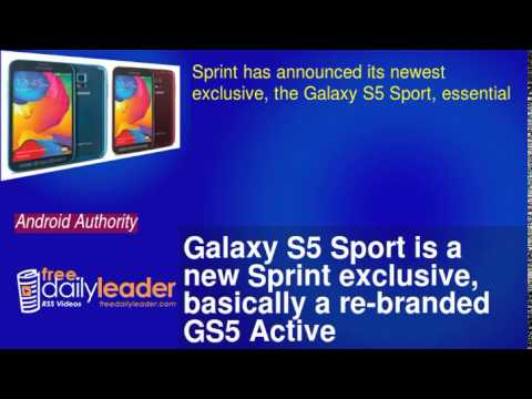 Galaxy S5 Sport is a new Sprint exclusive, basically a re-branded GS5 Active
