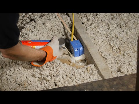 Air sealing attic electrical boxes | DIY home improvement tips | Rule Your Attic! With ENERGY STAR