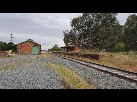 Abandoned Barnawartha  Station Victoria Australia 5th November 2018