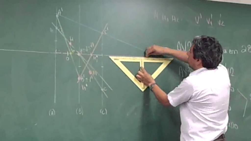 Aula de Geometria Descritiva 4ª Parte Final - YouTube