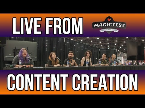 Content Creation Panel - MagicFest Las Vegas