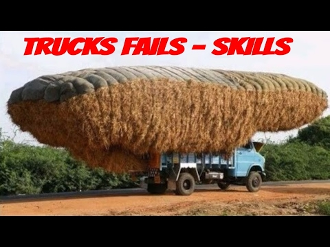 Heavy Equipment Accidents caught on tape - Trucks Disasters