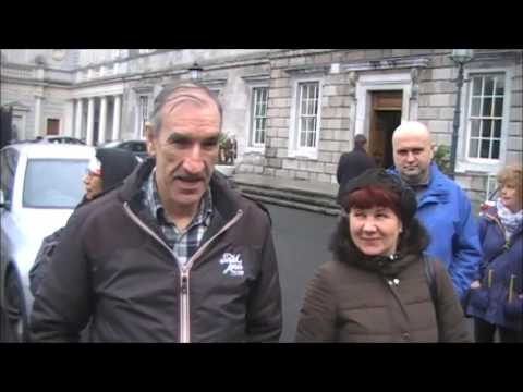 DCILS Dail (Irish Parliament) visit Feb 2017