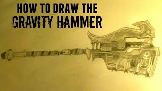 How to Draw Halo Weapons: Ep 2. Gravity Hammer
