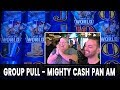 Lagu 👩👩👦 $4000 GROUP PULL! 💪 Mighty Cash Pan Am @ Cosmo Las Vegas ON THE STRIP