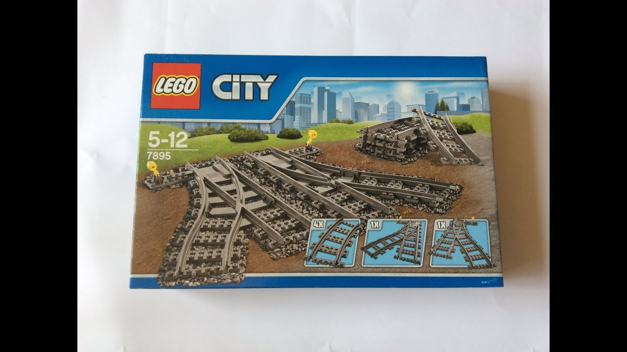 """Lego 7895 """"Switching Tracks"""" Unboxing and Review"""