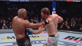 UFC 241: В замедленной съемке