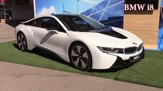 BMW i3. BMW i8. Электросила в действии.