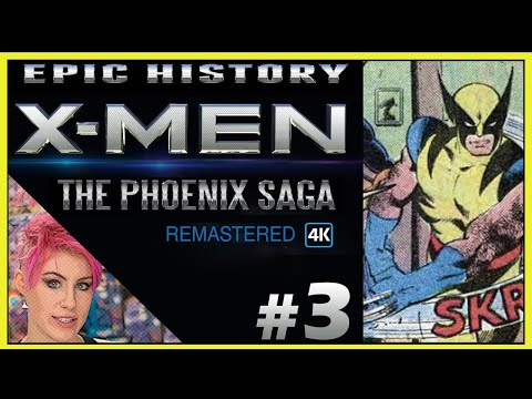 Cyclops-Jean Grey-Wolverine Love Triangle Origins (3/9) The X-Men Phoenix Saga Remastered