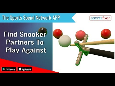 Find a Snooker Partner to Play Against? Download Sportsfixer App.