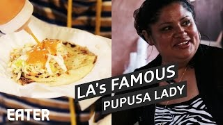 The Best Pupusa Place in LA Is Some Lady's Backyard