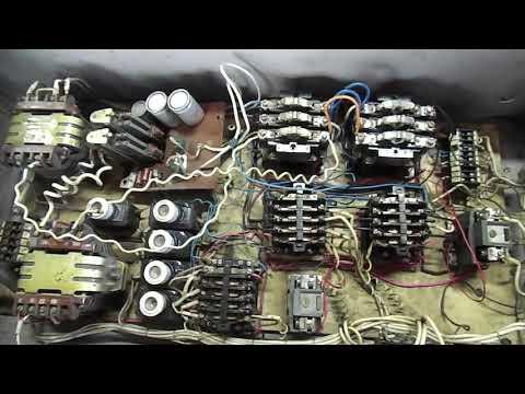 Ремонт электро-шкафа сверлильного станка 2Н135