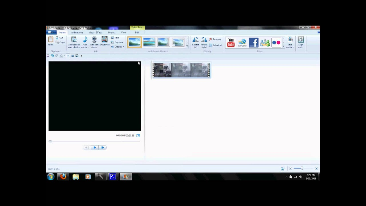 How To Remove Audio From A Video Or Clip On Movie Maker Windows 7