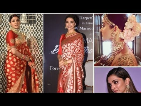 Anushka Sharma's Saree Inspired By Deepika Padukone For Delhi Reception Look