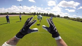 GOPRO | See training from goalkeeper Andrew Lonergan's point of view